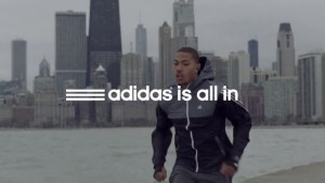 Adidas is all in